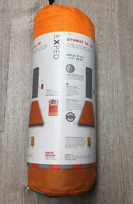 Exped Synmat UL Sleeping Pad - LW - Orange With Pumpsack New