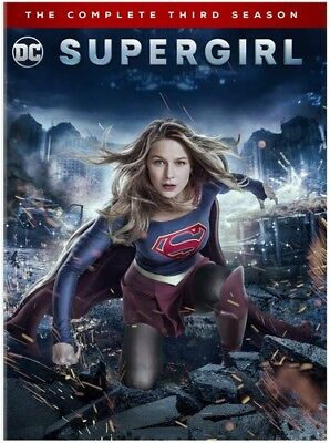 Supergirl: The Complete Third Season - 5 DISC SET (2018, DVD NUOVO) (REGIONE 1)