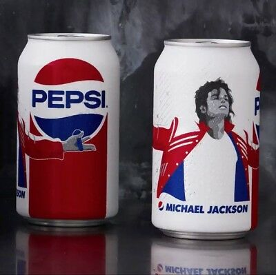 Limited Edition 2018 Pepsi Michael Jackson Music Generation Can Unopen Last One
