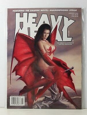 Heavy Metal Magazine Volume 29 #6 January 2006 Sperlonga King Cardoselli Ozkan