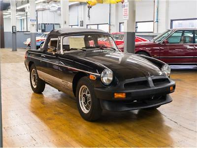 MGB -- 1980 MG MGB, Black with 10 Miles available now!