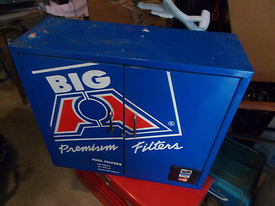 """""""BIG A"""" PREMIUM FUEL FILTERS CABINET ALL METAL WITH SHELVES 26Lx9 1/2Dx23H"""