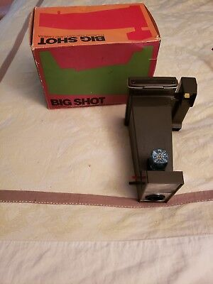 "Vintage Polaroid ""Big Shot"" Portrait Land Camera with box"