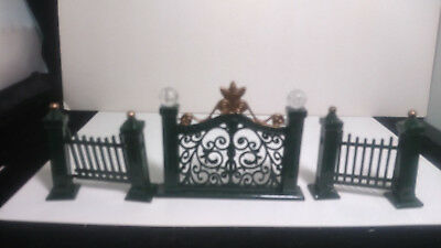Victorian Metal Fence Gate good for Christmas, Railroad set, Dollhouse