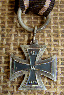 Imperial German Miniature Wwi Iron Cross 1870