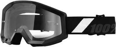 100Percent Strata Adult Goggles, Goliath With Clear Lens, One Size