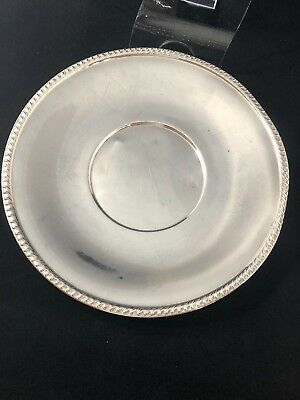 (268g) Stunning ART CO. SPC Silver Vintage Plate - Exceptional
