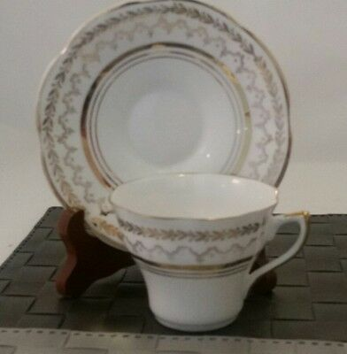 Crownford Bone China Tea Cup & Saucer