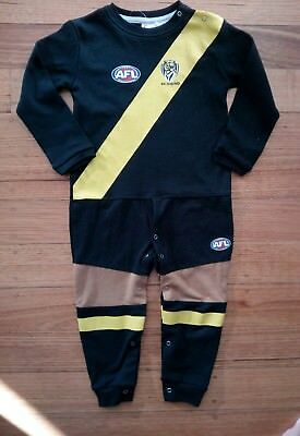 NEW Toddler AFL One Piece RICHMOND TIGERS Size 3 ADORABLE
