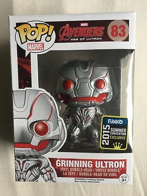 Funko Pop! Avengers Grinning Ultron 83 Summer Convention 2015 Exclusive