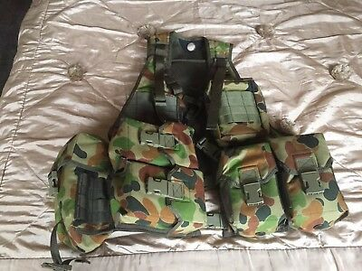 Tactical Combat Ammunition Vest Chest Rig PLATYPUS AUSCAM SUPPORT VEST
