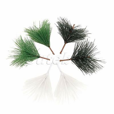 DIY Mini Tree Branchs Artificial Pine Needle Ornament Christmas Decoration 10X