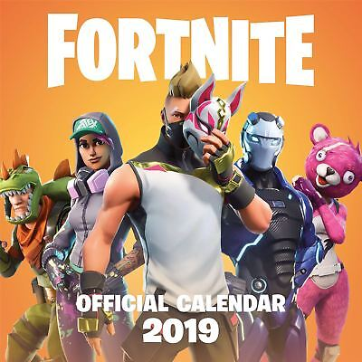 Bajo Pedido: Fortnite Oficial 2019 Calendario de Pared Nuevo y Sellado