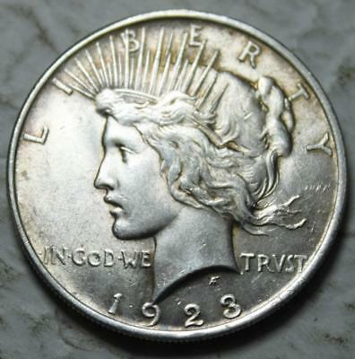 United States 1923-P Peace Silver Dollar, Brilliant Uncirculated & Lustrous