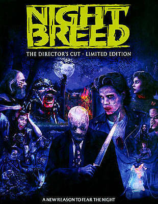 NEW Night Breed Blu-ray 3-Disc Director Cut (Scream Factory) LIMITED EDITION OOP