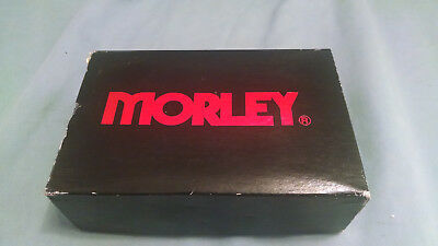 Vintage Morley Sapphire Flanger Pedal SFB980113--Blue--In Box w/Paperwork