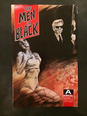 The Men In Black #1 (Aircel 1990) 1st Print, 1st Appearance! G/VG