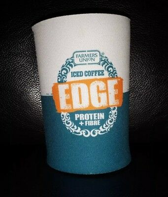 Rare Collectable Foodland Farmers Union Iced Coffee Edge Fuic Stubby Holder New