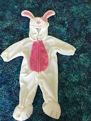 Infants Size 3 To 6 Months Bunny Costume For Halloween And Easter One Piece