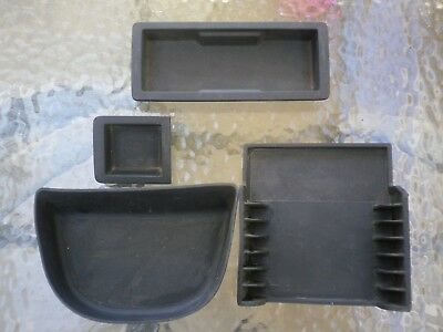 VY VZ WK WL centre console rubber set of 4.  HSV, Calais, Berlina, SS. Free post