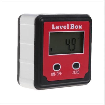 Digital Inclinometer Spirit Level Box Protractor Angle Finder Gauge Meter Bevels