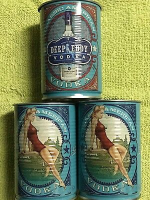 Deep Eddy Lemon vodka tin cups (3)
