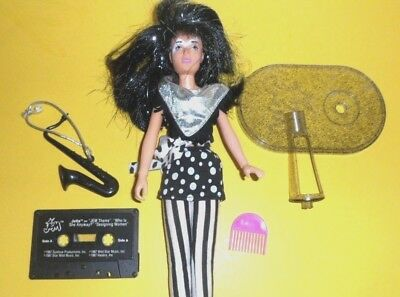 JETTA OF THE MISFITS from JEM and the HOLOGRAMS  doll 1987  1980's by HASBRO