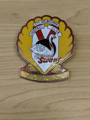 The Swans South Melbourne Shell Football Badge