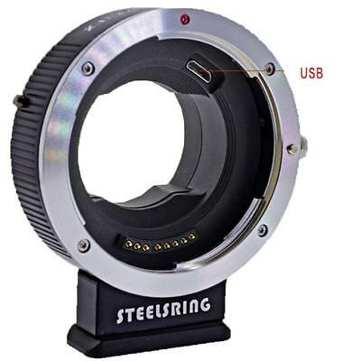 Steelsring Auto Focus AF adapter for Canon EOS EF lens to Fujifilm FX/XT2/XH