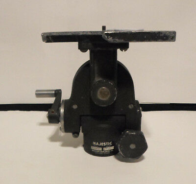 Modern Builders Co Majestic 1901 Geared Camera Support Head with Mounting Plate