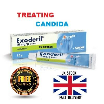 Exoderil Cream Candida, Mycosis, Skin Fungal Treatment, Anti Fungal, Fungus Stop