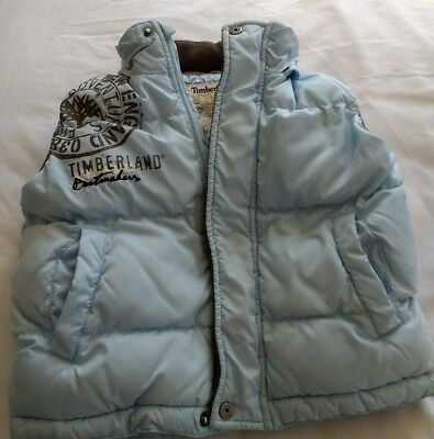 Timberland Baby Boys Gilet Age 18 Months Blue
