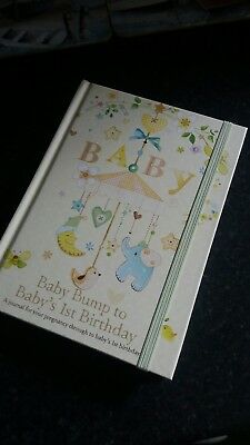 New Baby Record Book, Pregnancy Journal With a SMALL DEFECT