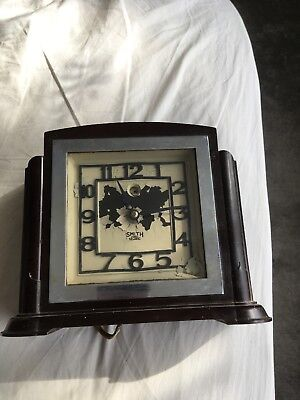 Antique clock electric smiths