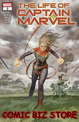 Life Of Captain Marvel #3 (Of 5) (2018) 1St Printing Main Cover Marvel Comics