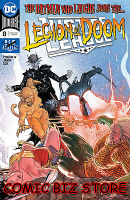 Justice League #8 (2018) 1St Printing Dc Universe Janin Main Cover