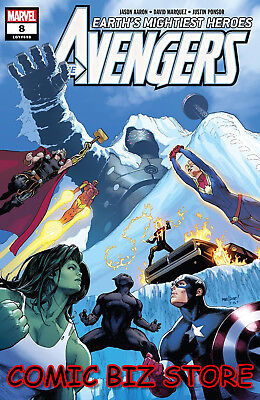 Avengers #8 (2018) 1St Printing Marvel Comics Bagged & Boarded