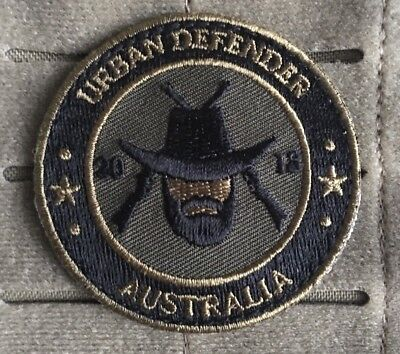 Urban Defender Australia, Patch, Logo, Military, Police, EMS, Subdued, Morale.