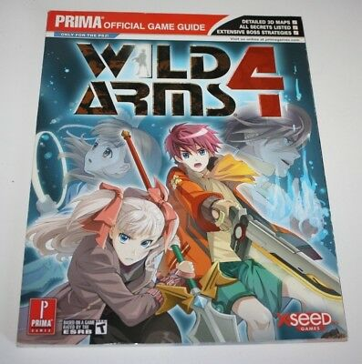 ++ prima official game guide WILD ARMS 4 ++