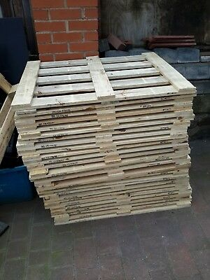 Wooden Pallet Lids 97 Cm x 78 Cm - Ideal Timber For Fencing Or Furniture - Clean