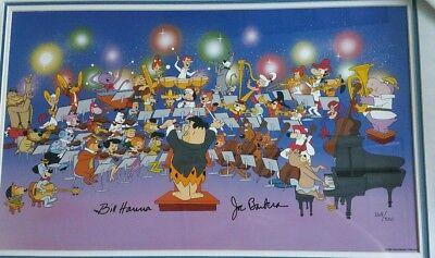 "HANNA-BARBERA Ltd Ed ""Symphony Of The Stars"" SIGNED AND NUMBERED"