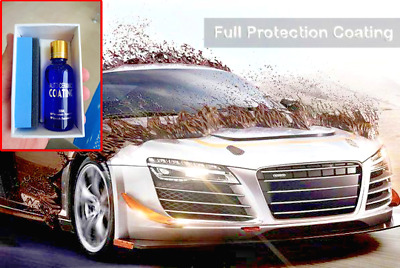 Ultra Ceramic Car Coating Protection  (Oil + Sponge + Towel)  FREE SHIPPING