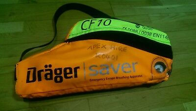 Drager Saver CF10 - Emergency Escape Breathing Apparatus (Soft Case) PPE 2
