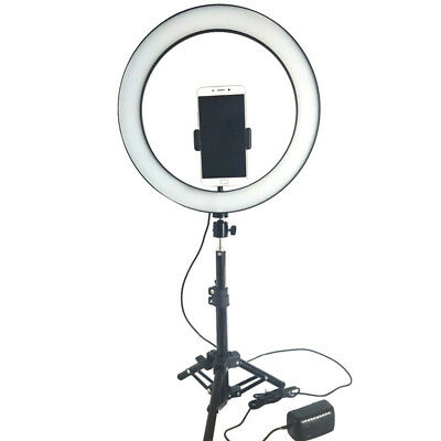 6 inch Selfie Ring Light LED Photography Photo Camera Video Table Mini Tripod