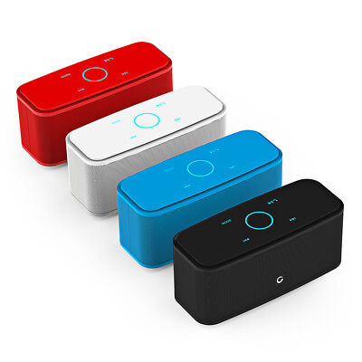 Portable Touch Wireless Bluetooth Stereo Speaker Mini Music Player AUX Audio 2CH