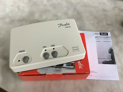 Danfoss Rxz 2C 087N777200 Z-Wave Wireless Receiver Two-Channel, 230 V