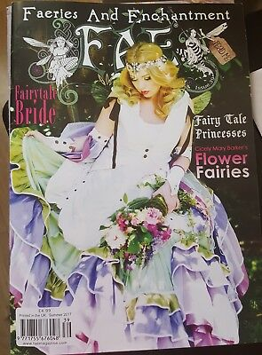 Fae Faeries And Enchantment Magazine Issue 38 Spring 2017 (Fairy)
