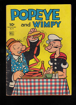 Four Color 70 Popeye & Wimpy