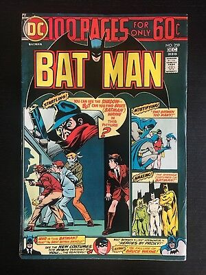 DC: Batman (1974) #259 100 page Giant Nick Cardy Cover   (more listed this week)