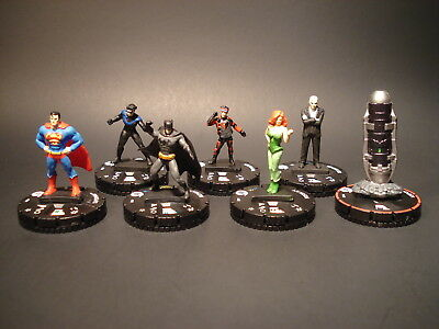 HeroClix DC Fast Forces - Worlds Finest - Miniatures x6 w/Item and Cards (#18)